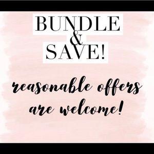 Bundle & Save 2/10 & 2/15$ items 3/10% OFF!